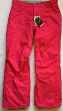 Nike Womens Snowboard Ski Pants Snow Salopettes Trousers Pink Ladies XL NEW