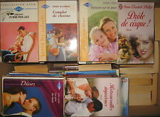 LOT DE 100 ROMANS / LITTERATURE SENTIMENTALE / HARLEQUIN-J'AI LU