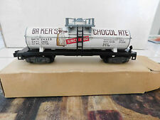 American Flyer 1959 24323 Bakers Chocolate Tank Car with box LN