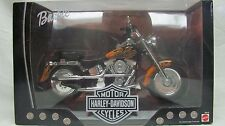 Harley Barbie Fatboy Toy Black Flames FREE SHIPPING!!!!