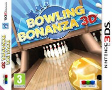 Bowling Bonanza 3D Nintendo 3DS Brand New and Factory Sealed FREE P&P UK