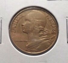 CIRCULATED 1972 20 CENTIMES FRENCH COIN  (112215)