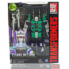 Transformers Titans Return Leader SIXSHOT Six Shot In Stock AUTHENTIC Hasbro DHL