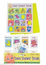 BABY SHOWER GAME - Bingo 16 Sheet/Player, Neutral (Boy Girl) UK Party Version