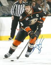 RYAN GETZLAF signed ANAHEIM DUCKS 8X10 photo w/ COA