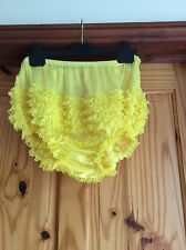 Sexy Yellow Adult Rhumba, Sissy, Dance, AB, Hen.s Night Panties Large