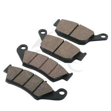 New Front Rear Brake Pads For Honda NX 650 DOMINATOR XL 600 650 V TRANSALP 2000-