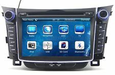 Car BT Radio DVD Player GPS Navigation For Hyundai i30 Elantra GT 2012 2013 2014