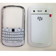 White Bettery Cover/Keypad For Blackberry Bold 9900 Full Housing