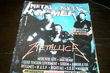 METAL HAMMER MAGAZINE 6/1999 METALLICA MERCYFUL FATE ANATHEMA MARDUK IN FLAMES