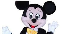 Halloween mickey mouse  Mascot Costume fancy dress  Cartoon Character Head Only