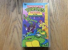 Turtles, Return Of The Technodrome Vhs! Look In The Shop!
