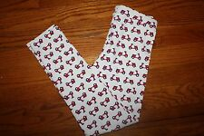 NWT Gymboree Ciao Puppy Size 7 White Moped Scooter Leggings Pants