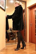 NEW Jimmy Choo Sz38.5 over-the-knee thigh-high boots heels