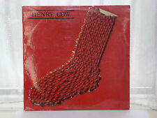 "Henry Cow Slapp Happy In Praise of Learning 12"" Lp 1975"