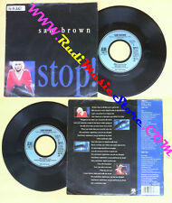LP 45 7'' SAM BROWN Stop! Blue soldier 1988 germany A&M 390 317-7 no cd mc dvd