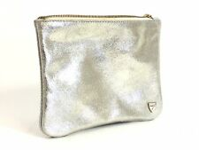 Aspinal of London Large Cosmetic Pouch Gold