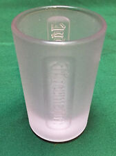 JAGERMEISTER - Frosted Shot Glass - Brand New