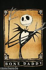 OFFICIAL Tim Burton Bone Daddy Jack Skellington Nightmare Before XL T Shirt 1025