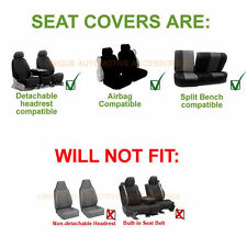 BLUE AIRBAG SEAT COVERS & SPLIT Bench 9pc SET FOR NISSAN MURANO SENTRA ROGUE