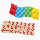 Wooden Montessori Mathematics Material Early Learning Counting Kids Toy PP
