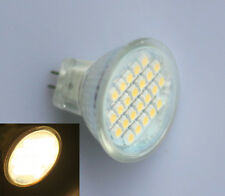 MR11 GU4 3528 SMD 24 LED Spotlight Spot Light Bulb Lamp 3600K Warm White 12V 1W