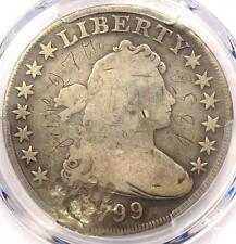New listing 1799 Draped Bust Silver Dollar $1 - Certified Pcgs Vg Details - Rare Coin!