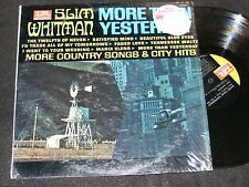 SLIM WHITMAN More Than Yesterday IMPERIAL LP IN Shrinkwrap More Country Songs