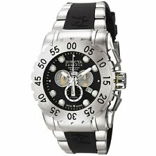 Invicta 6653 Men's Reserve Leviathan Chronograph Black Polyurethane Watch
