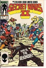 Secret Wars II #1 by Marvel Comics