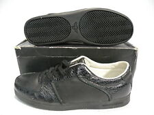 Creative Recreation AL CAPONE LOW Sneaker Shoes Mens Black snake CROC SIZE 8 new
