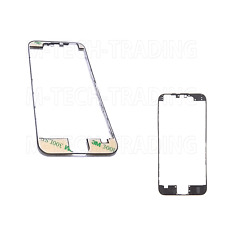 !NEW GENUINE IPHONE 6 BLACK OUTER LCD TOUCH SCREEN TRIM BEZEL + 3M STICKER PART