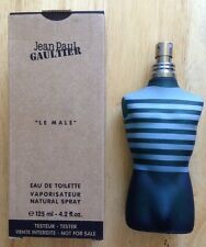 JEAN PAUL GAULTIER LE MALE EAU DE TOILETTE for MEN, GENUINE, 4.2 oz, NEW TESTER