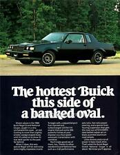 Old Print. 1984 Buick Regal Grand National Coupe Automobile Advertisement