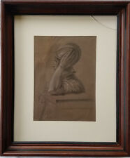 1820's Original William Mulready R.A. (Ireland 1778-1851) Drawing, Roman Soldier