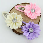 Beautiful Baby Girl Flower Hair Clips Toddler Hairpins Accessories ASE