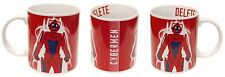 DR157 Doctor Who Red Cyberman DELETE Mug Cup BBC Cyborg Villains Sci Fi