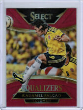 15/16 PANINI SELECT SOCCER RADAMEL FALCAO #6 EQUALIZERS RED PRIZM /199 COLOMBIA