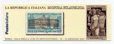 Repubblica Italiana Mostra filatelica - Libretto Montecitorio 2003
