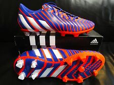 Adidas predator Instinct FG/azul/rojo/blanco/tamaño 45 1/3