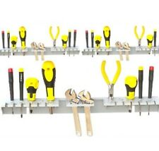 Garage wall TOOL RACK storage KIT pack of 4