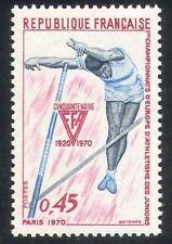 France 1970 Junior Athletics/Sports/Games/Vaulting/Animation 1v (n34174)