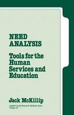 Need Analysis : Tools for the Human Services and Education (Applied Social Resea