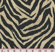 Bryant Wild Thing Onyx Animal Print Indoor Outdoor Upholstery Fabric BTY