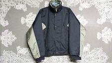 Eddie Bauer Men's Solid Blue/Silver Gore-Tex Weatherproof Jacket See Measurement