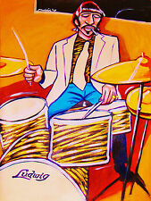 RINGO STARR PRINT poster beatles abbey road cd ludwig drum set snare cymbal lp