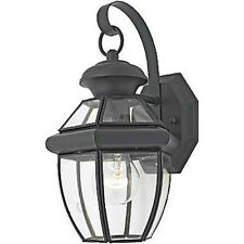 Black Outdoor House Light Porch Lamp Garage Door Outside Lantern Fixture NEW