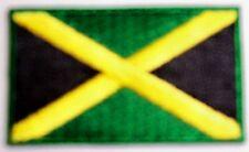 TOPPA MINI PATCH FLAG JAMAICA CM 5 x 3 BANDIERA GIAMAICANA JAMAICANA GIAMAICA
