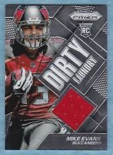2014 Prizm Football ~ Mike Evans ~ Buccaneers ~ RC ~ Dirty Laundry Relic #DL-ME