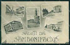 Verona San Bonifacio Saluti da STRAPPINO cartolina QT4547
